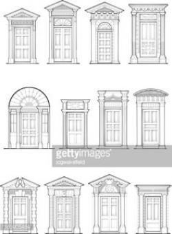 Columns clipart classical architecture