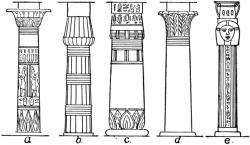 Columns clipart egypt