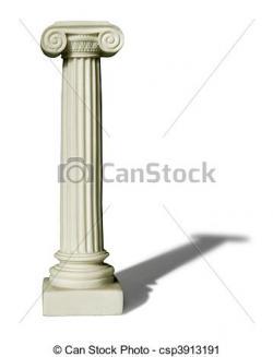 Columns clipart ionian