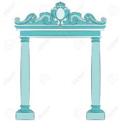 Arch clipart temple entrance arch