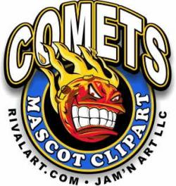 Comet clipart basketball