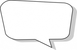 Comics clipart dialogue box