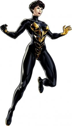 Wasp clipart marvel