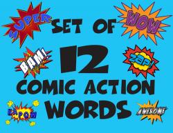 Comics clipart word bubble