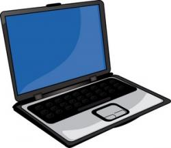 Technology clipart laptop