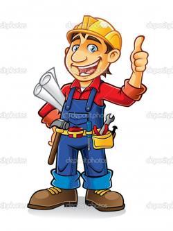 Uniform clipart construction worker