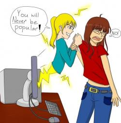 Cyber clipart social bullying