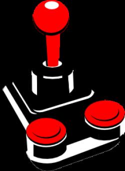 Joystick clipart computer