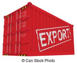 Container clipart export