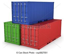 Container clipart freight
