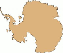 Antarctica clipart continent