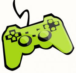 Joystick clipart video game designer