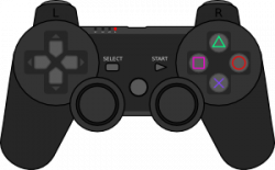 Video Game clipart ps3 controller