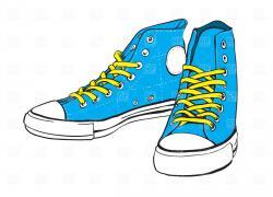 Gym-shoes clipart kids run