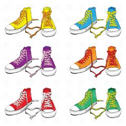 Gym-shoes clipart childrens shoe