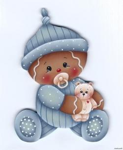 Gingerbread clipart gingerbread baby