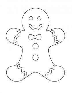 Gingerbread clipart cut out