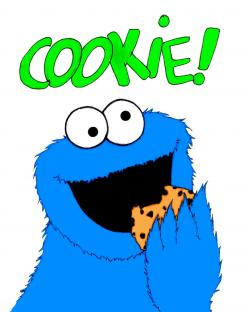 Biscuit clipart cookie monster cookie