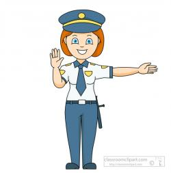 Police clipart male and female
