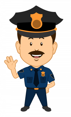 Police clipart cute