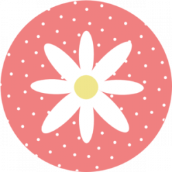 Dots clipart coral