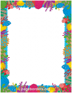 Coral Reef clipart border