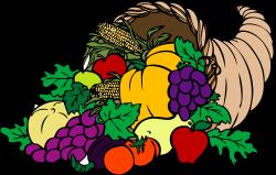 Harvest clipart cornucopia