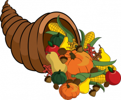 Thanksgiving clipart cornucopia