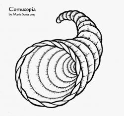Cornucopia clipart empty