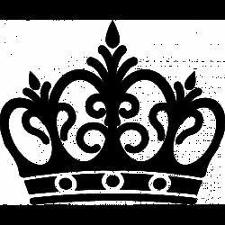 Corona Extra clipart black and white