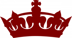 Maroon clipart crown