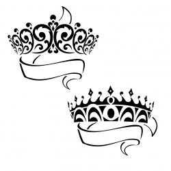 Crown clipart prince and princess