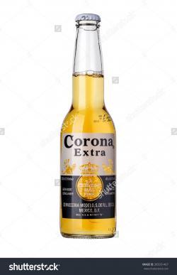 Corona Extra clipart bottel