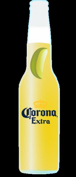 Corona Extra clipart glass bottle