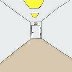Corridor clipart