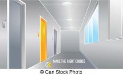 Corridore clipart hotel
