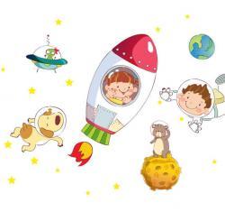 Cosmic clipart spaceship