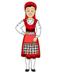 Portugal clipart costume