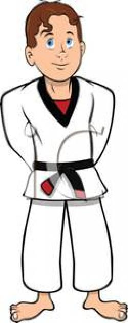 Uniform clipart karate