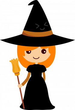 Witchcraft clipart friendly witch
