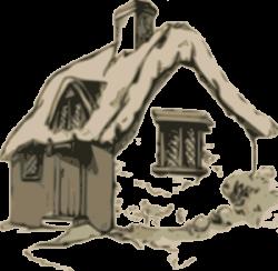 Cabin clipart cottage