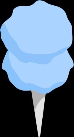 Cotton Candy clipart blue