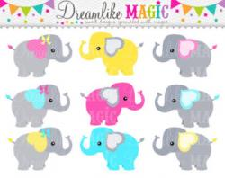 Cotton Candy clipart elephant