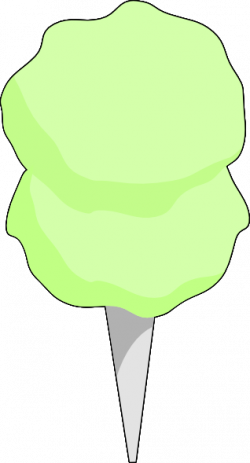 Cotton Candy clipart green