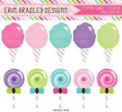 Cotton Candy clipart vector