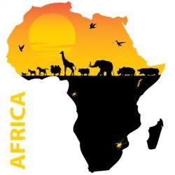 Africa clipart african art