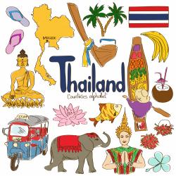 Thailand clipart thai culture
