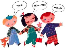 Hello! clipart foreign language