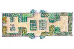 Garden clipart rectangle