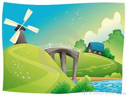 Countryside clipart